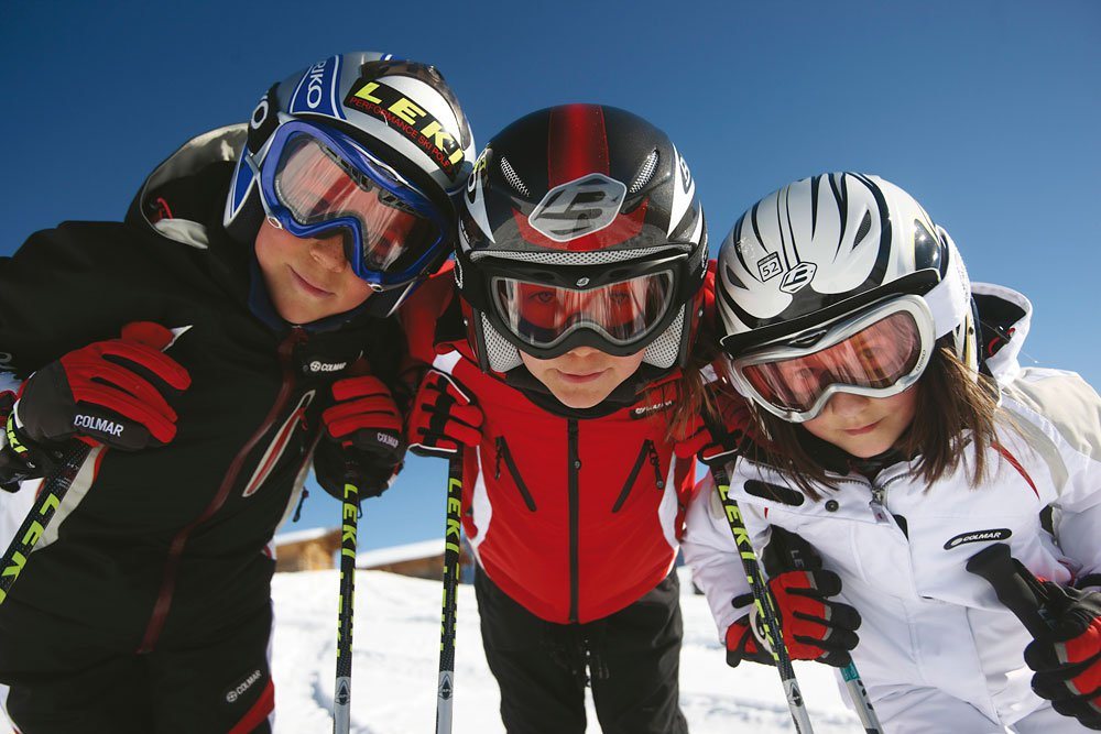 Skiing fun for young and old